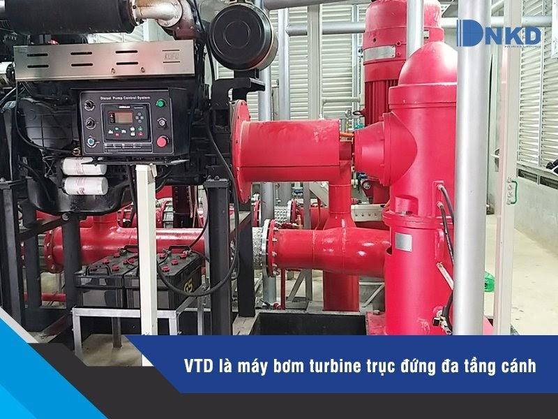 Máy bơm Turbine trục đứng VTD: Tiêu chuẩn Hàn Quốc, độ bền vượt trội